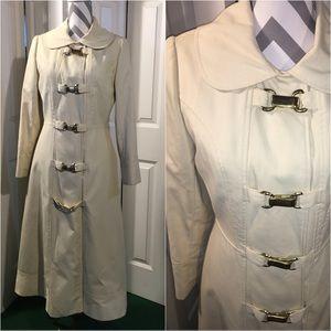 Vintage Full length Sliker/coat Medium.